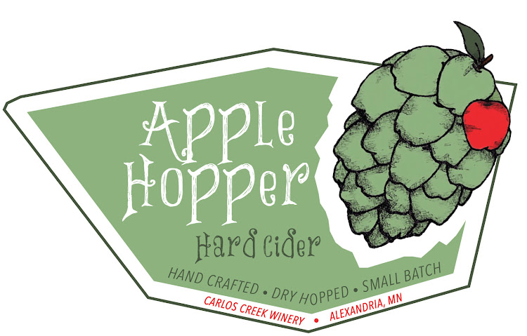 Logo of Calros Creek Winery Apple Hopper