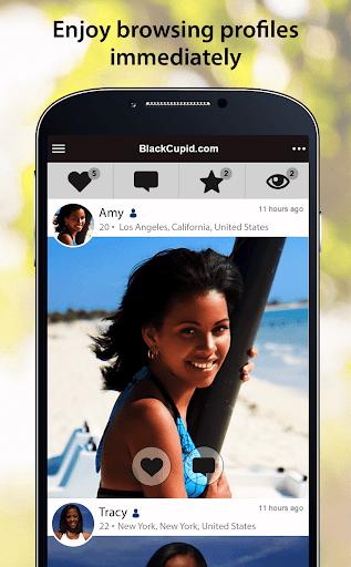 BlackCupid - Black Dating App 2.1.6.1557 screenshots 2