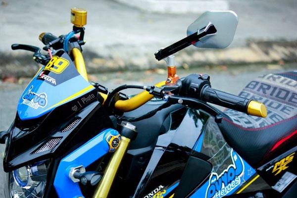 Honda MSX125 độ nổi bật và cá tính cùng hàng loạt đồ chơi - Xi nhan độ