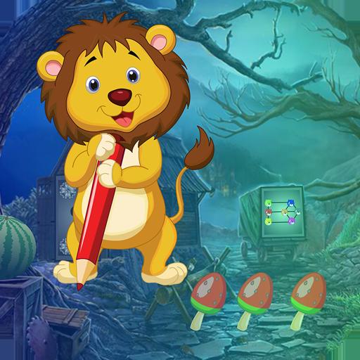 Best Escape Game 591 Nimble Lion Rescue Game