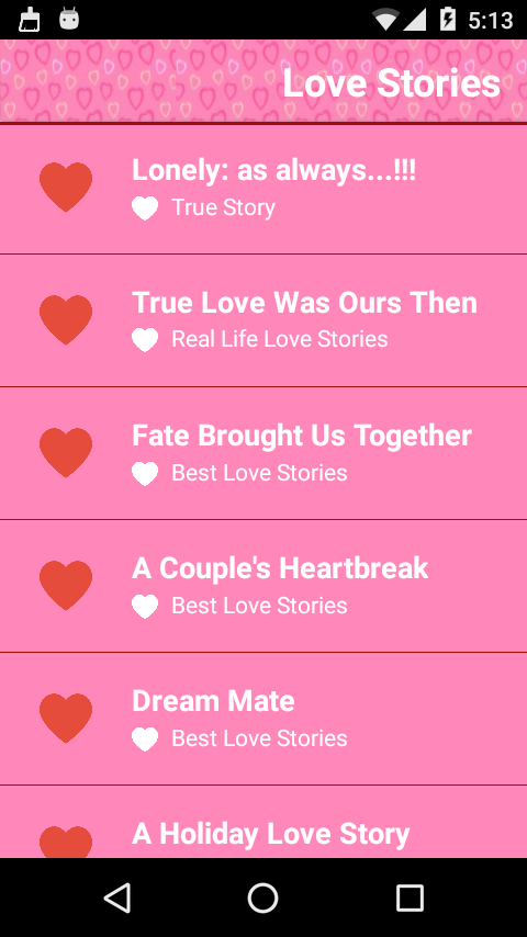 Love Stories - Android Apps on Google Play