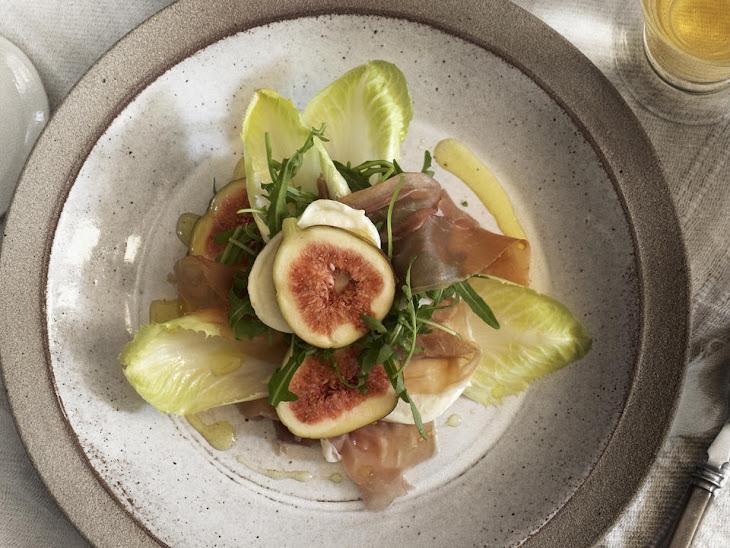 Buffalo Mozzarella, Fig and Prosciutto Salad Recipe