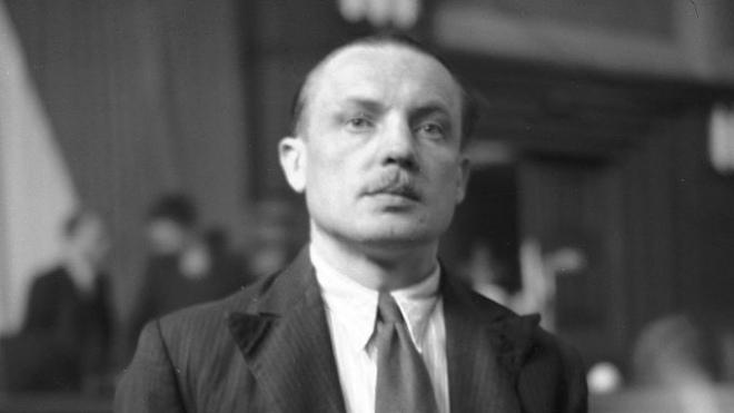 Карел Чурда перед чехословацьким судом.