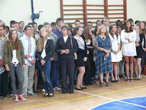Photo: Uroczyste rozpoczęcie roku szkolnego 2013/2014 w Gimnazjum nr 1 w Płońsku im. Papieża Jana Pawła II [2 września 2013]