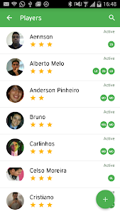 Peladeiros Pro Soccer Players screenshot 1