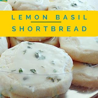 Lemon Basil Shortbread.