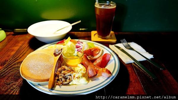 台北東區 暖肚皮咖啡 豐富經典早午餐拼盤 附湯、飲品 嘉義早午餐、下午茶推薦 公明路/嘉義圓環/文化路