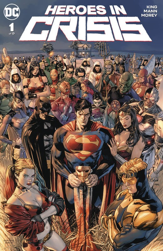 Heroes in Crisis (2018) - complete