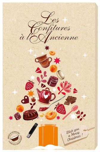 Marmeladkalender, adventskalender 2021 - Andrésy Confitures