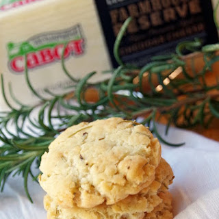 This Cheddar Cheese Cookie Recipe is the Perfect Savory Treat!.