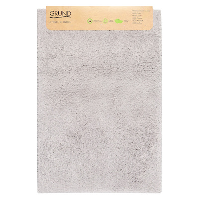 Коврик для ванной Grund Marla серый 60х90 см