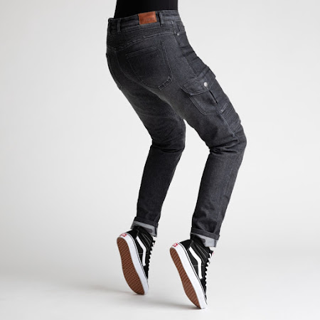 Broger Ohio Jeans Dame (washed black)