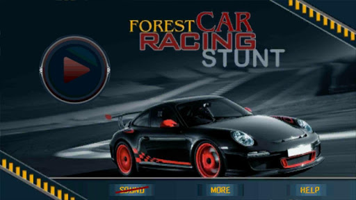 Forest Car Racing Stunt