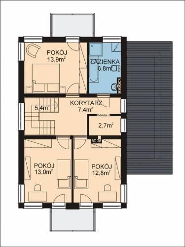 APS 072 - Rzut piętra