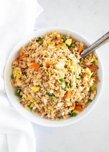 EASY Fried Rice made in 20 minutes! - I Heart Naptime