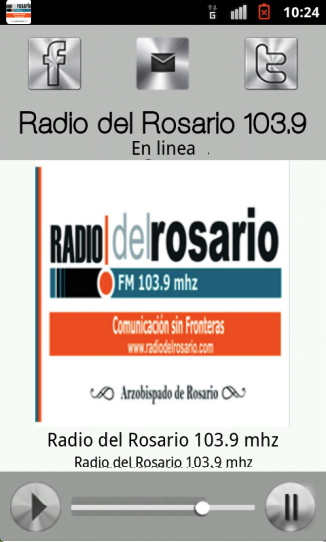 Radio del Rosario 103.9- screenshot