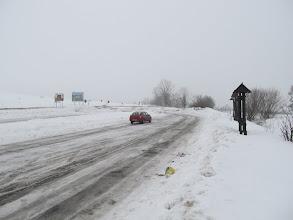 Photo: 01.Przełęcz Snozka (653 m) z dużym parkingiem.