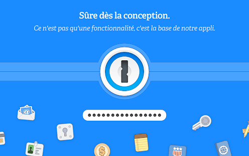 1Password Capture d'écran