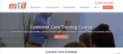 MTD Customer Care Training Course