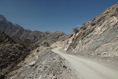 Übergang zum Wadi Sahtan