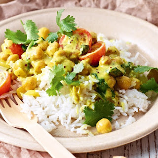 Chickpea and Spinach Curry Recipe