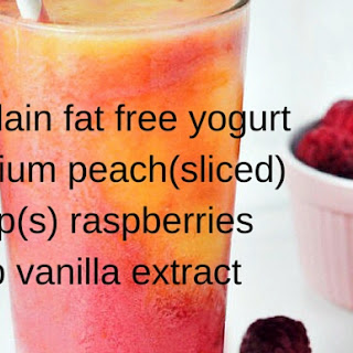 Low Fat Smoothies For Weight Loss.