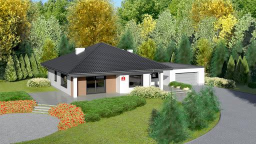 projekt Dom przy Makowej 2 bis