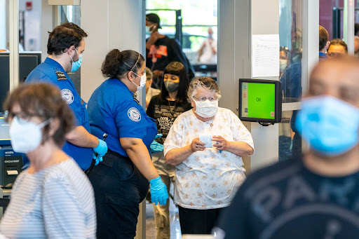 The TSA screened more than 2 million flyers for the first time since March 2020