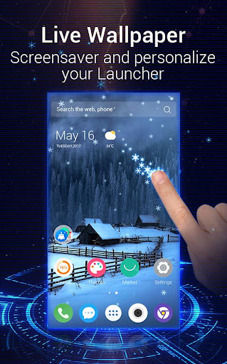 U Launcher 3D u2013 Live Wallpaper, Free Themes, Speed 2.3.6 screenshots 2
