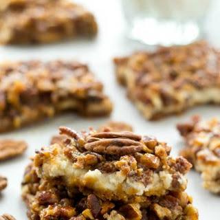 Honey Pecan Pie Cheesecake Bars