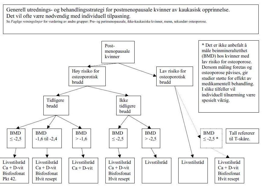 medikamentell behandling av osteoporose