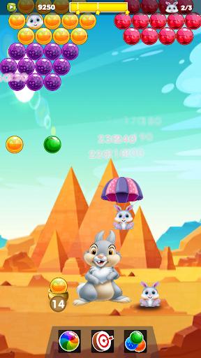 Bunny & Fox Pop 2020 : Bubble Shooter android2mod screenshots 5
