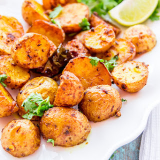 Indian Spiced Roasted Potato.