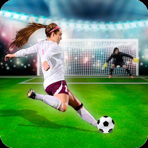 Shoot Goal - Girls Soccer