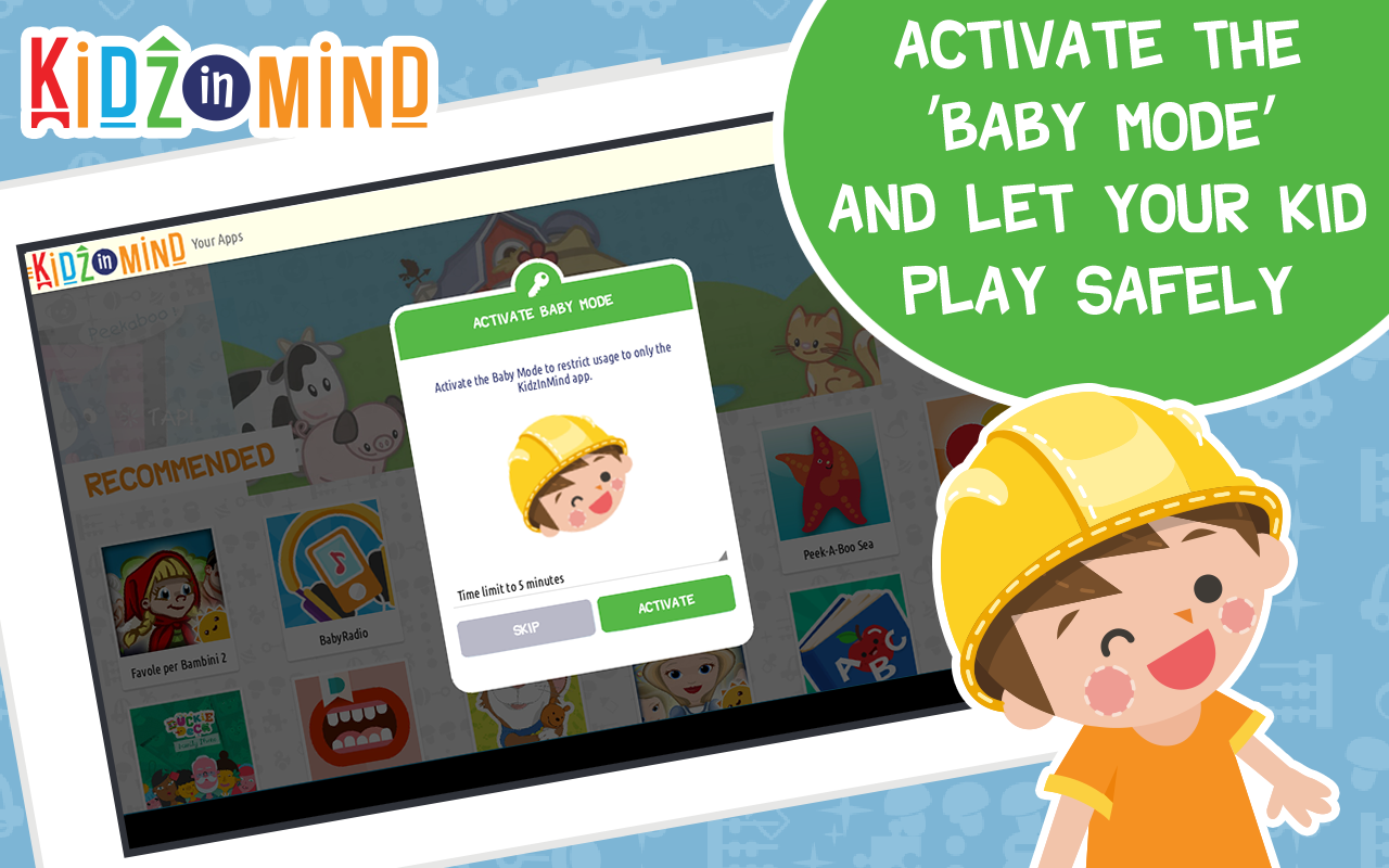 KidzInMind Kids Apps and Video- screenshot