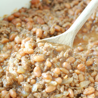 Cowboy Baked Beans With Ground Beef Recipes