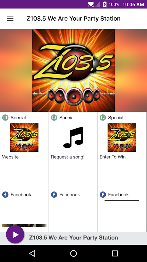 Z103.5 We Are Your Party Station- screenshot