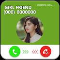 Fake Call girlfriend prank: Fake Call Screen Prank icon