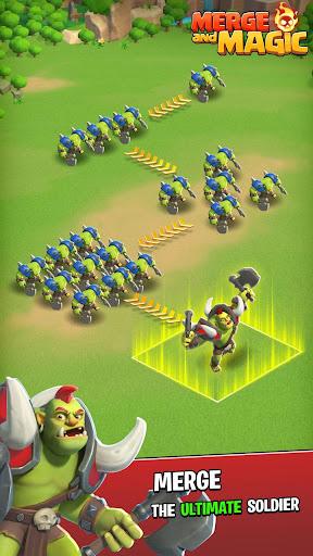 Télécharger Gratuit Merge and Magic mod apk screenshots 5