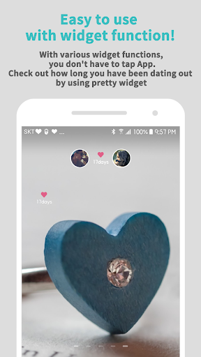 Couple Widget - Love days Countdown 1.9.9 screenshots 1