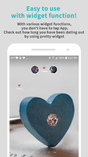 Couple Widget - Love days Countdown - náhled