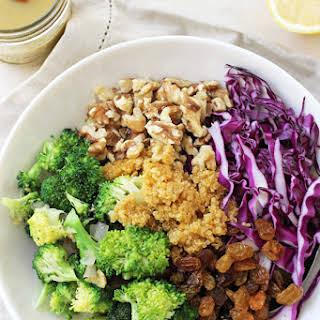 Crunchy Broccoli Quinoa Salad.