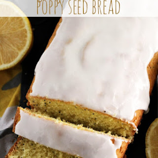 Glazed Lemon Poppy Seed Bread