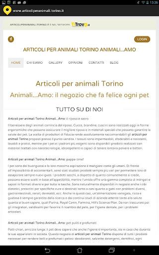 Articoli per Animali Torino