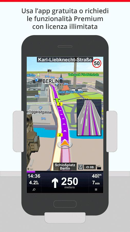 sygic car navigation app android su google play. Black Bedroom Furniture Sets. Home Design Ideas