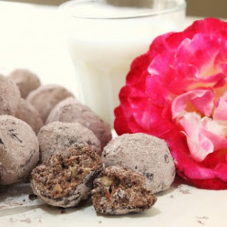 "Chocolate Almond ""Wedding"" Cookies"