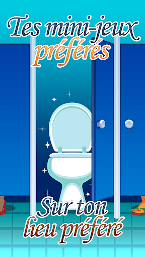 Toilet Time - Jeu de Toilette  captures d'u00e9cran 1
