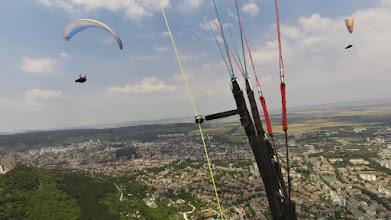 Photo: Шумен 24.07.2016 - закриваме състезанието с единствения летателен ден от Шуменското плато, тук в термика с Кольо и Стоян
