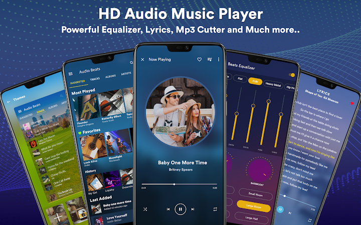 Music Player – Mp3 Player v5.2.0 build 5214 [Premium]