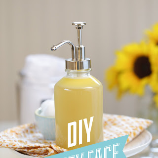 DIY Homemade Honey Face Wash.